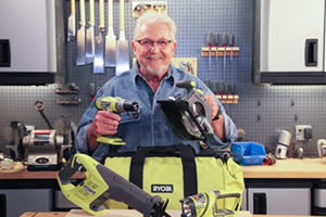 Ryobi kit image with Ron