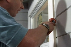 caulking as part of the window retro-fit