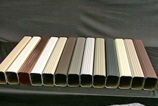 Gutters are available in many colors
