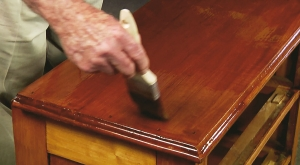 How to Refinish a Flea Market Find without Removing the Old Finish