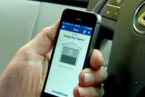 Control Your Existing Garage Door from Anywhere Using Your Smartphone