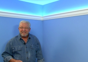 Easy, Inexpensive Cove Lighting Uses Foam Crown Molding and LED Light Tape