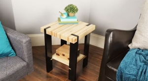 How To Build A Pallet Side Table