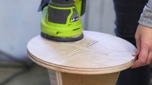 How to Build a Knock-Down Side Table