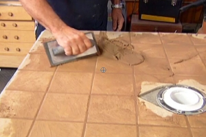 How to Apply Tile Grout