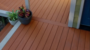 The Latest in PVC Decking PLUS a Lightweight Paver for Resurfacing Decks and Patios.