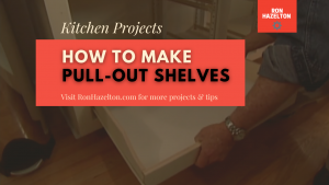 Create Slide Out Shelves