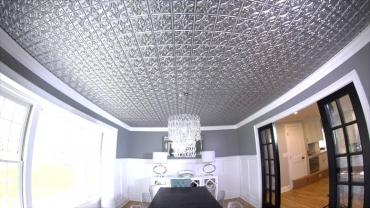 Nice Paneled Ceiling