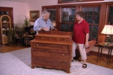 discussing top coating the antique furniture