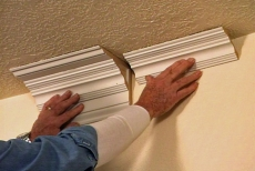 How To Build Up Large Crown Molding By Stacking Trim Ron