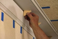 How to Build up Large Crown Molding by Stacking Trim • Ron