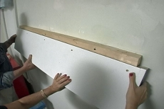 Installing a Shelf onto the Cleat