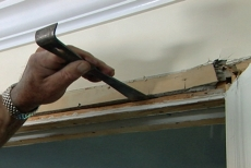 How To Repair And Replace A Pocket Door Diy Projects