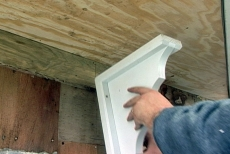 adding corbels to the bay window