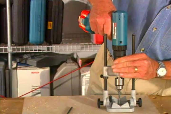 How to Use a Portable Drill Press to Drill Accurately