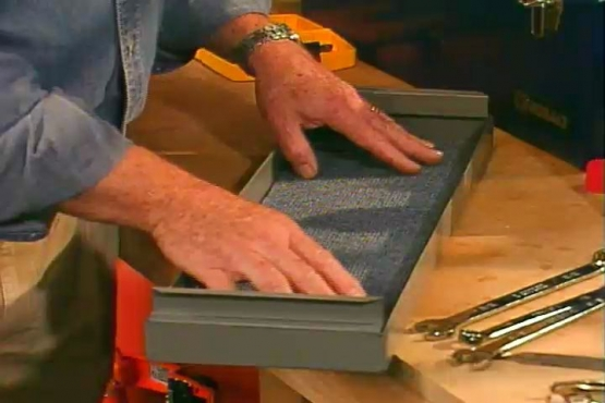 How to Line a Tool Drawer and Prevent Rust on Hand Tools