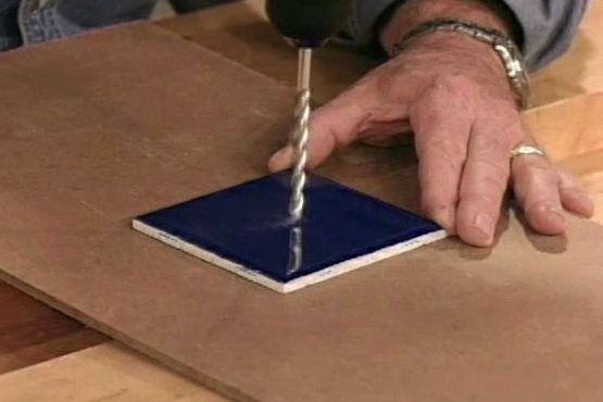 How to Drill into Ceramic Tile