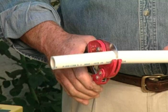 How to Cut and Glue PVC Plastic Pipe