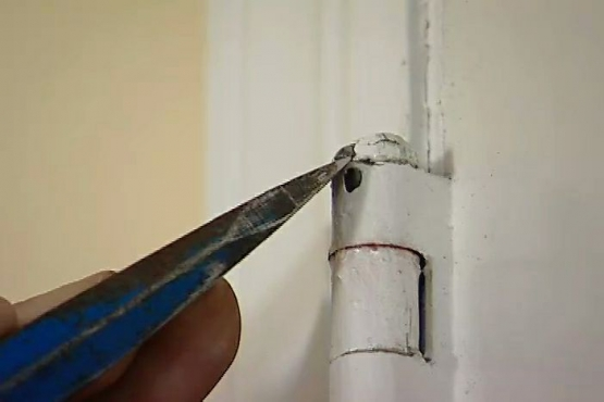 How to Remove a Hinge Pin from a Door