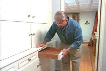 fixing a stuck drawer