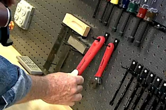 Pegboard Hooks that Stay Put