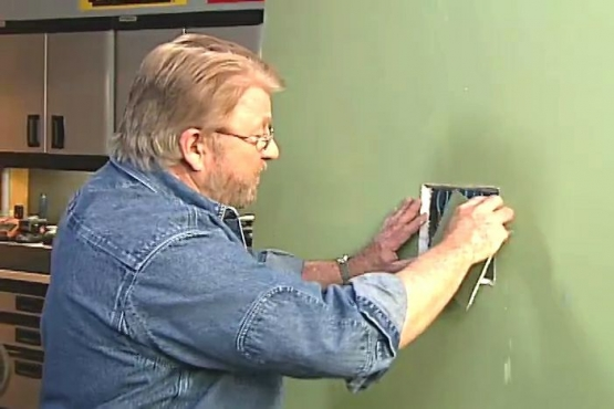 How to Cut an Inspection Hole in a Wall