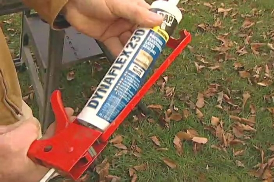 How to put a lamp post outdoors and wire it diy projects for Door gap filler