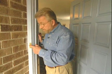 testing the new doorbell