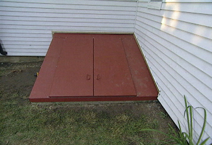 How To Install A Steel Bulkhead Basement Door Ron Hazelton