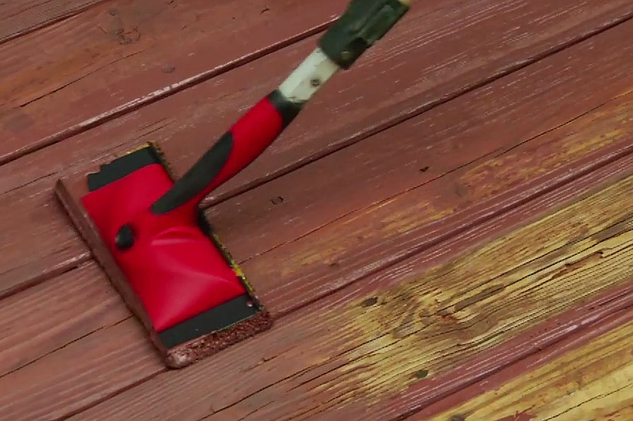 Clean Stain And Seal A Wooden Deck In Single Day Diy Projects Videos