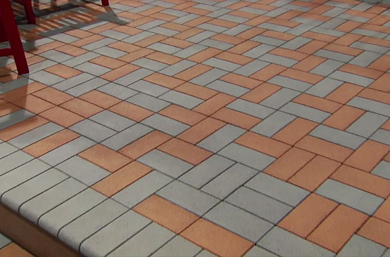 The latest in pvc decking plus a lightweight paver for for How much does composite decking weigh