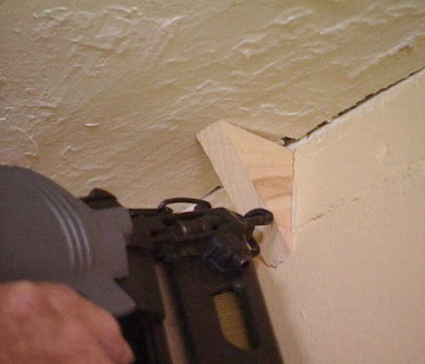 How To Prepare Wood Trim For A Smooth Wood Paint Job: How To Deal With Crooked Walls When Putting Up Crown
