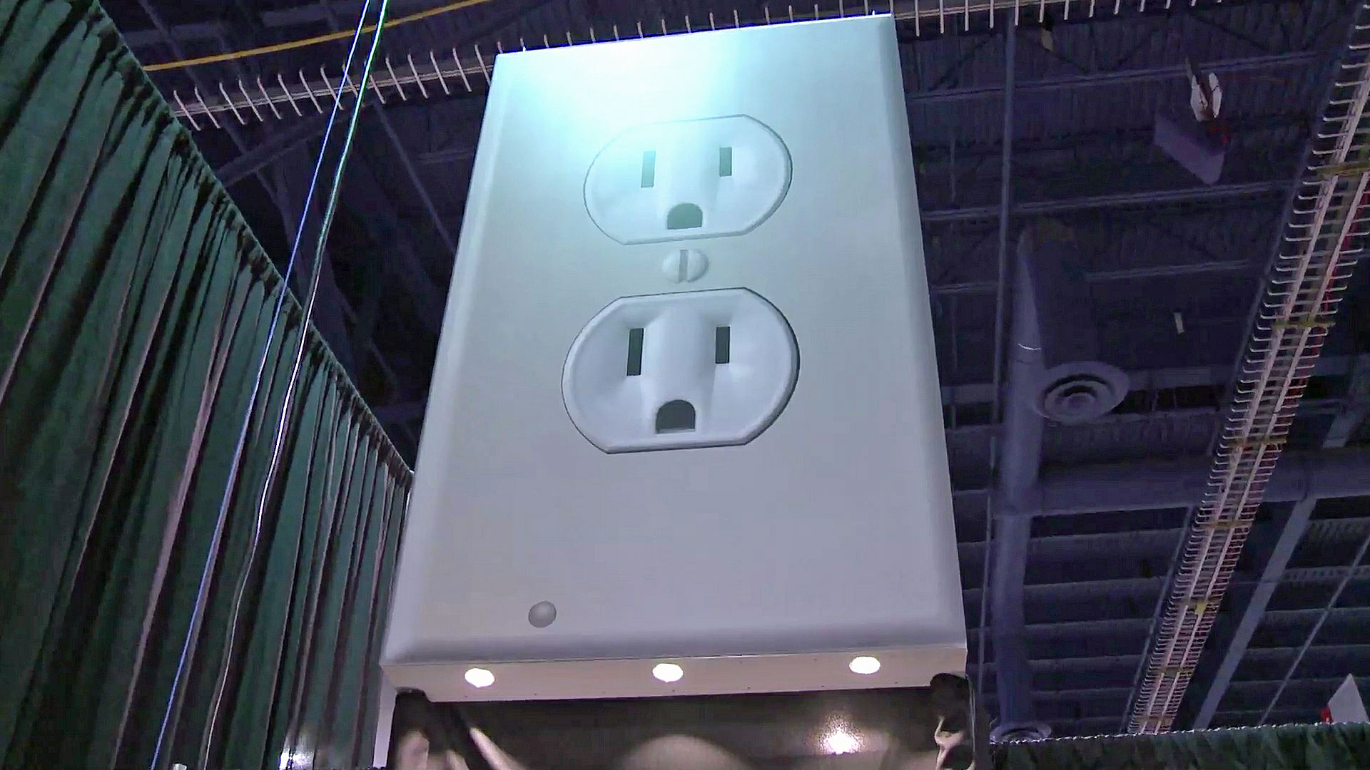 Ingenious Led Guide Light Built Into Outlet Snaps On No