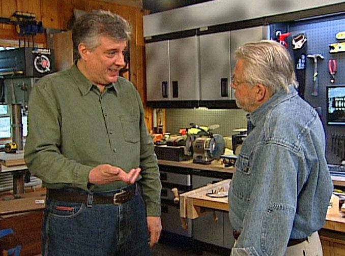 Kevin Ellie talking with Ron Hazelton