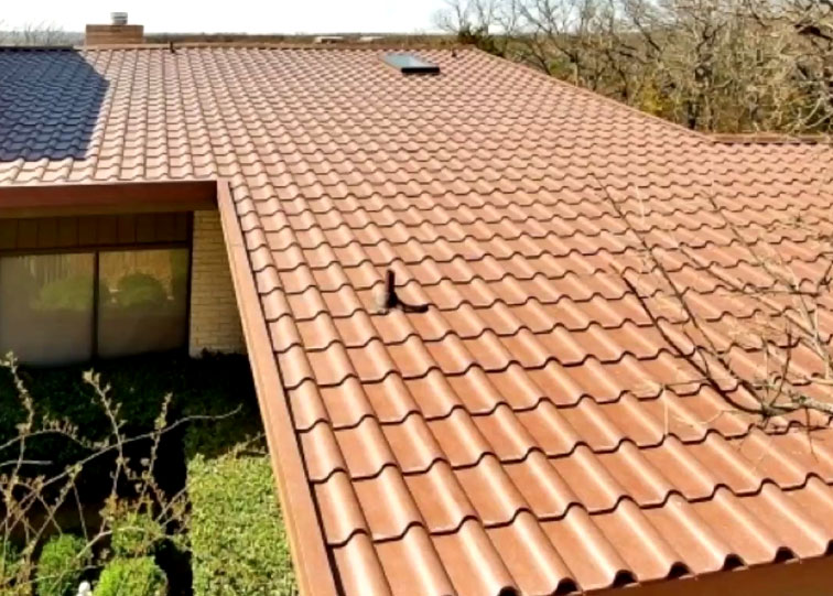 Metal Roofing That Looks Like Tile Or Shakes