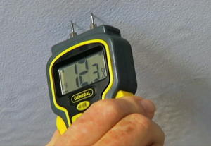 Using General Tools and Instruments Moisture Meter
