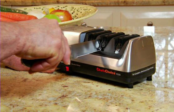 Chef's Choice sharpener from Edgecraft