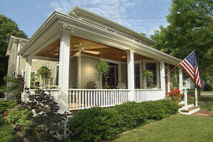 How To Make A Porch Rail Ron Hazelton