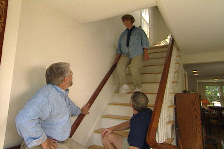 How To Make A Hand Rail Or Railing For Steps And Stairways
