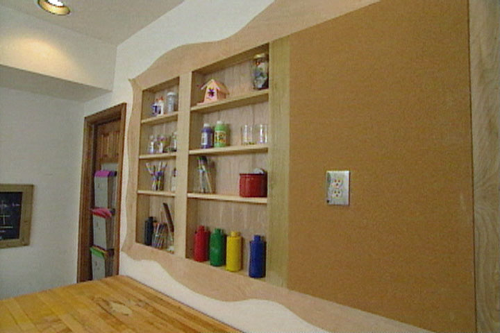 How To Put Recessed Shelves In A Wall Ron Hazelton