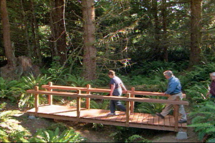 How To Build A Wooden Foot Bridge DIY Projects amp Videos