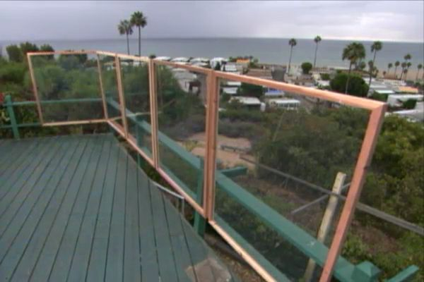 How To Build A Deck Wind Screen Ron Hazelton