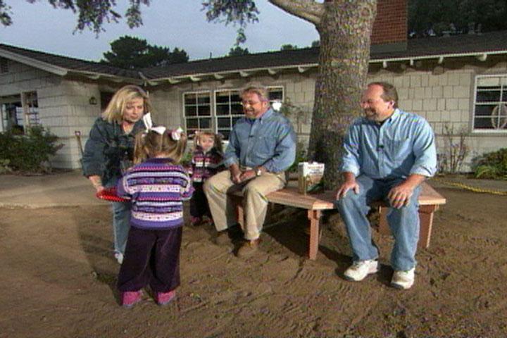 How To Build A Bench Around A Tree Ron Hazelton