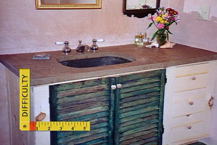 How To Make A Concrete Counter Top In Place Diy Projects Videos