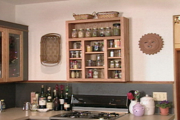 How To Make A Spice Rack Ron Hazelton