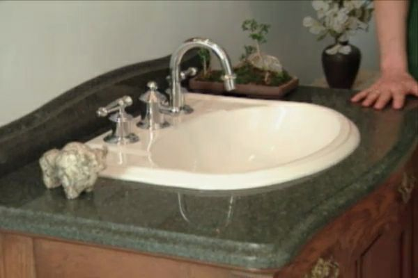 How To Make A Bathroom Vanity From An Antique Chest Diy Projects Videos