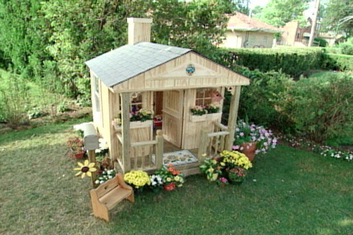 How To Build A Play House For Children Ron Hazelton