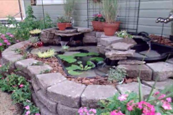 How to make a pond with a preformed pond liner diy for Koi pond forms