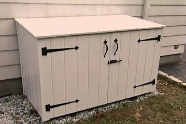 Top How to Build an Outdoor Garbage Enclosure • DIY Projects & Videos WW92
