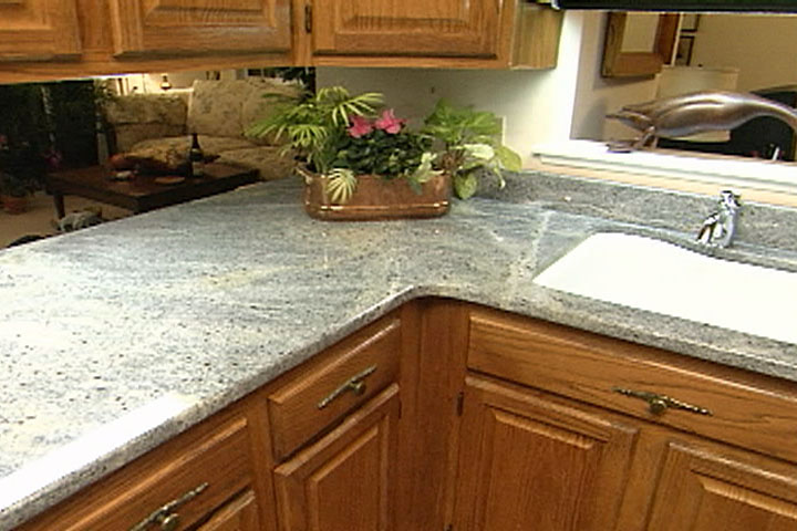 How a granite countertop is measured cut and installed for Template for granite countertops